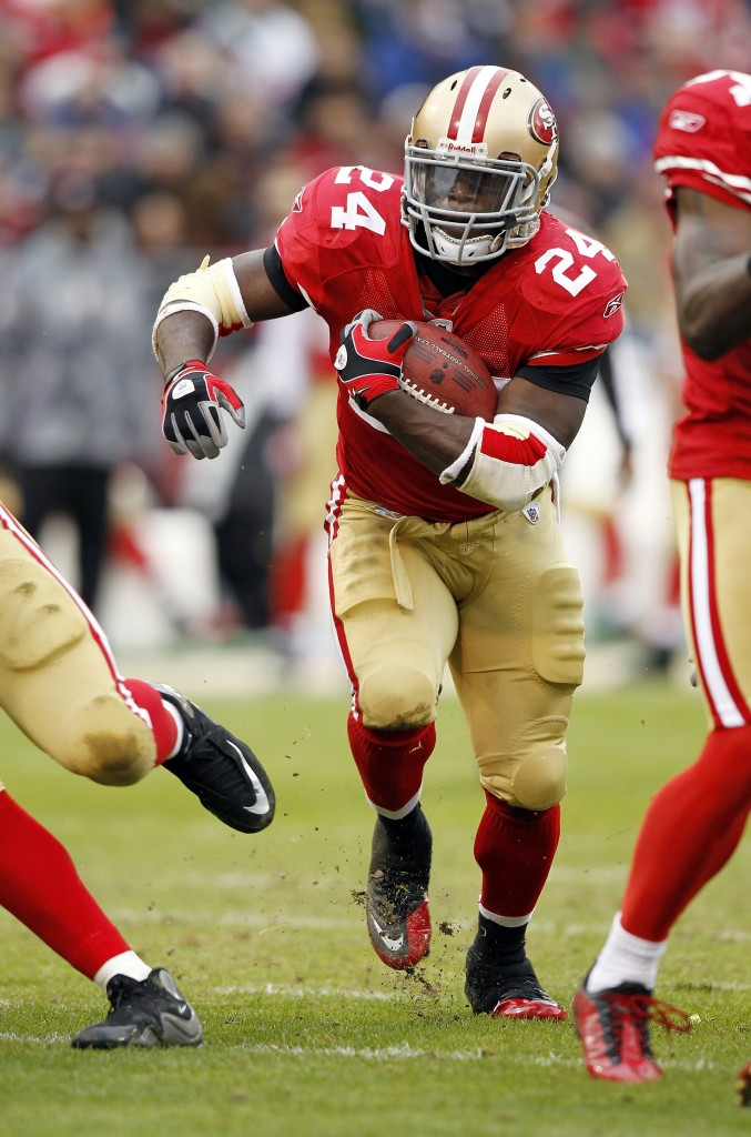 Niners running back Anthony Dixon believes he has an important advocate: Jim Harbaugh.