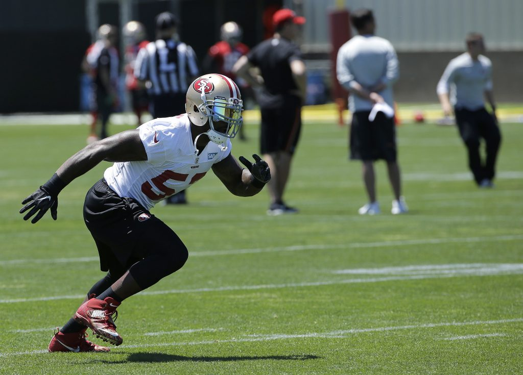 b55cf838edb 49ers OTA notes  Bad day for Bowman