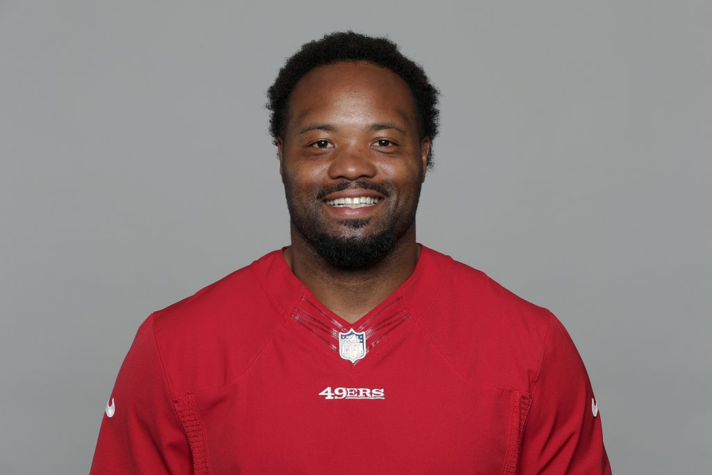 This is former 49ers outside linebacker Ahmad Brooks