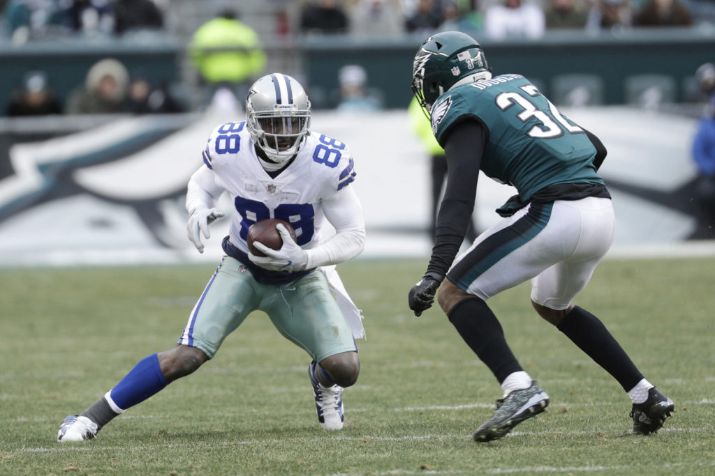 f571c96f77b Dallas Cowboys  Dez Bryant (88) in action against Philadelphia Eagles   Rasul Douglas (32) during an NFL football game against the Philadelphia  Eagles