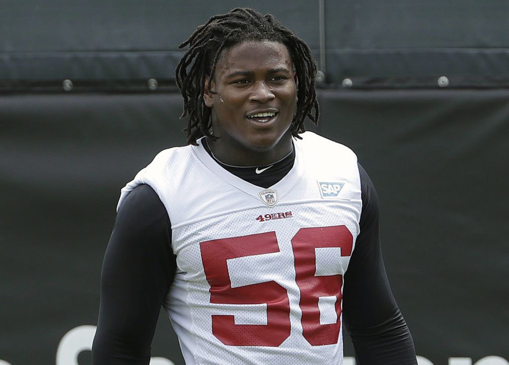 San Francisco 49ers release Reuben Foster after arrest