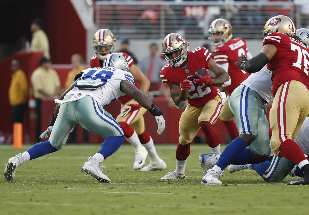 d585b227b95 Injuries will keep some 49ers out until season starts