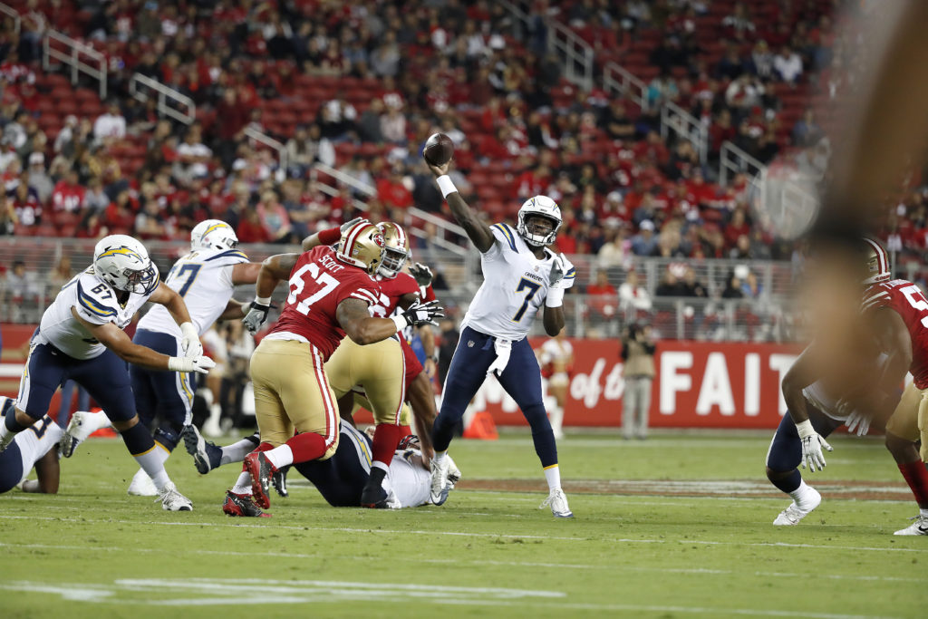 cdf909546 49ers drop exhibition finale with most key players out of action