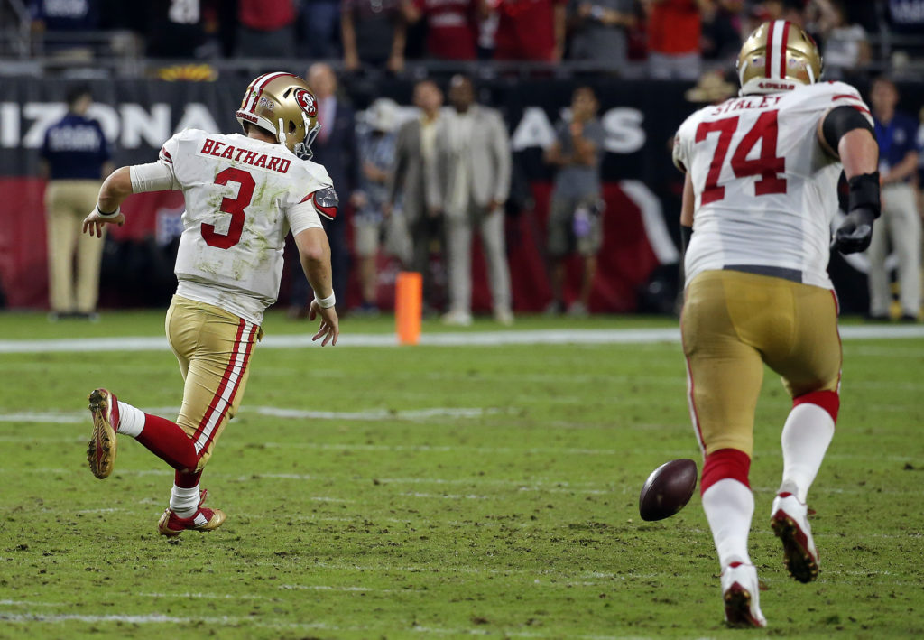 eaebd3ee3 How 49ers can beat Raiders in ugly Battle of Bay