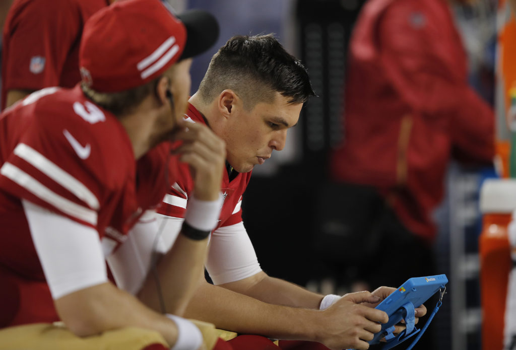 Kyle Shanahan not yet ready to declare Nick Mullens as new 49ers starter 9535de2ef