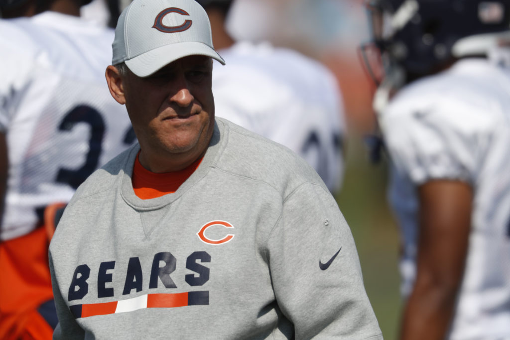 49ers to see familiar face when Vic Fangio brings Bears  defense to Levi s e0a27f7b7