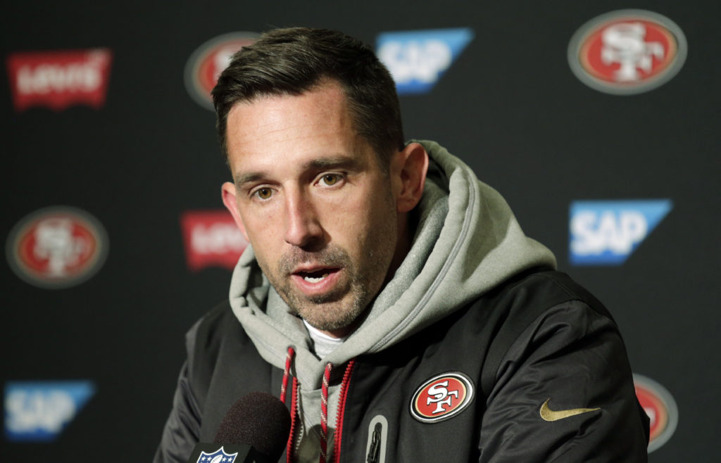 What does 2-10 record say about Kyle Shanahan  e0a397a8bf53