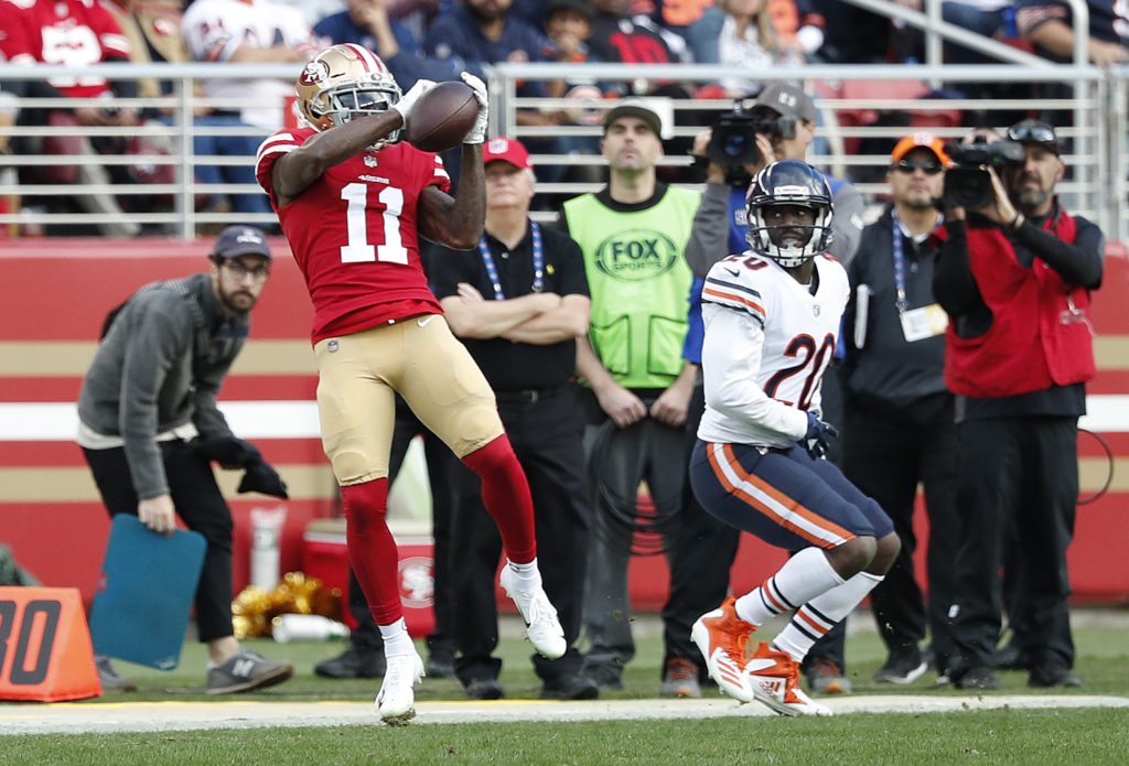 b3a8206e5 Injuries piling up for 49ers  Marquise Goodwin