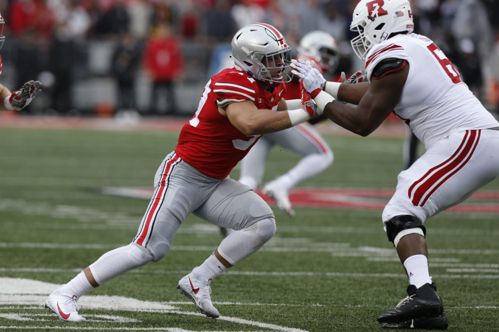 Brent Jones jokes about the reason the 49ers will select Nick Bosa