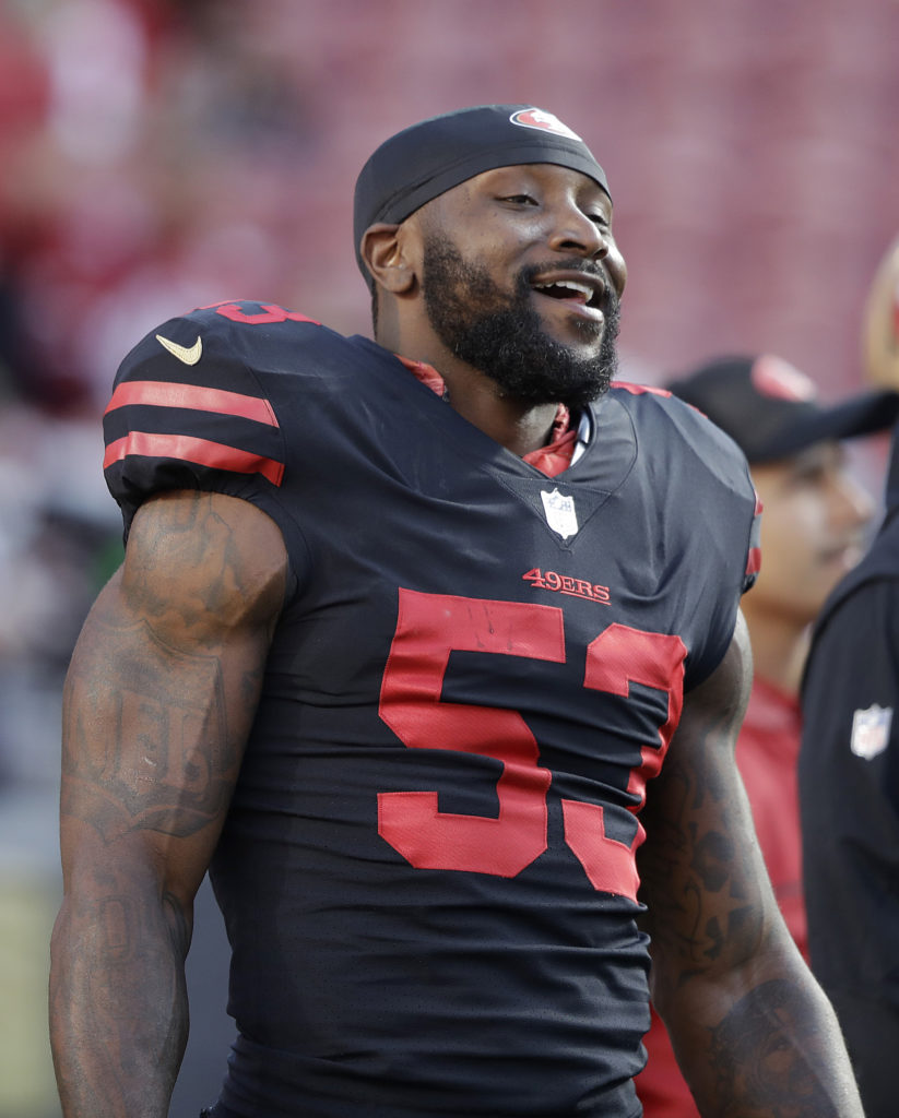 first rate 4a583 27273 NaVorro Bowman retires