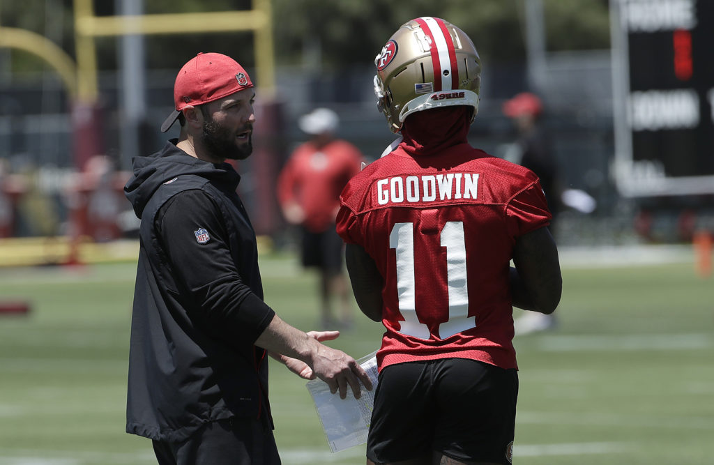 49ers New Coach 2020 49ers wide receiver Marquise Goodwin aims to compete in 2020 Olympics
