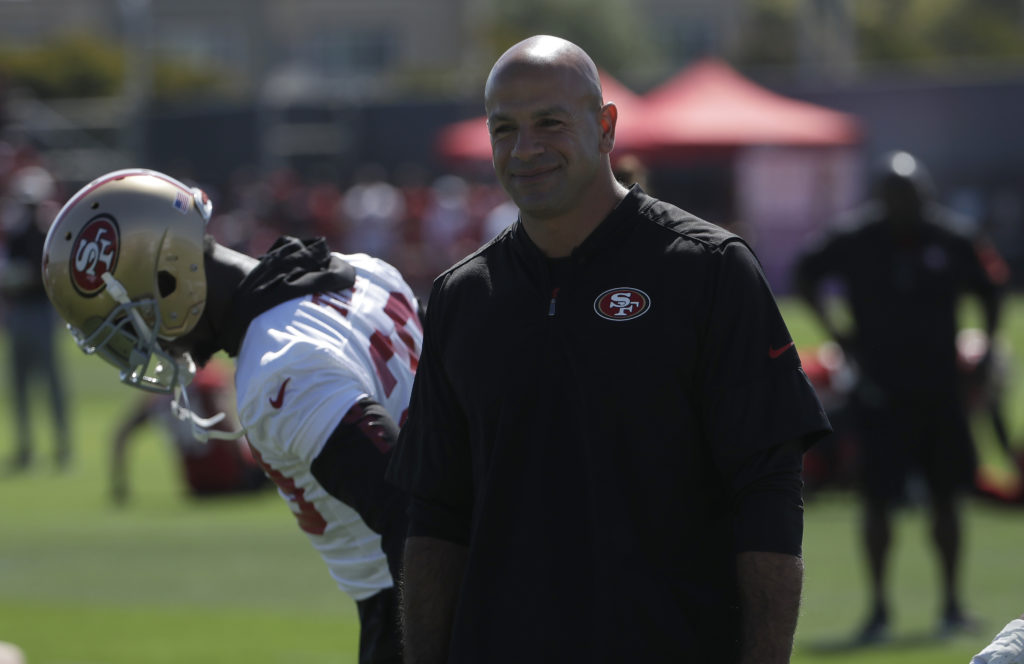 "Robert Saleh on the run defense: ""There's some new things that guys aren't used to seeing."" - 49ers.pressdemocrat.com"