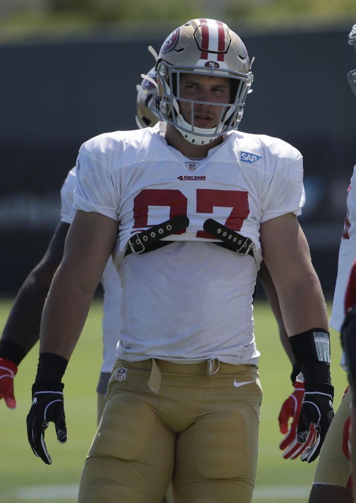 The Good And Not So Good Day 10 Nick Bosa Injures Right