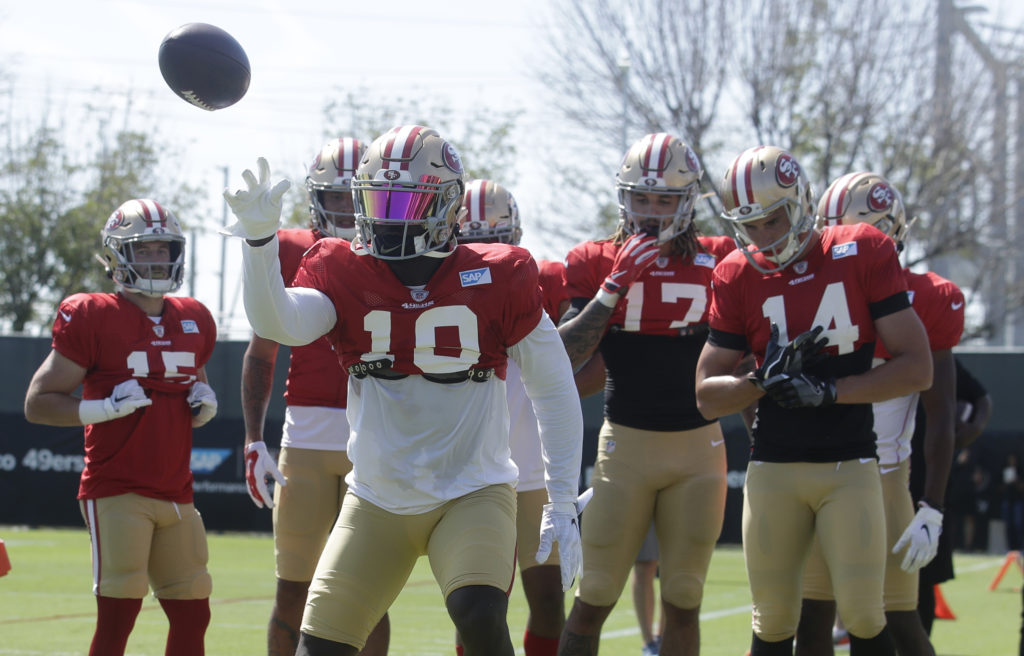 27c195d8 The good and not so good from 49ers training camp: Day 5