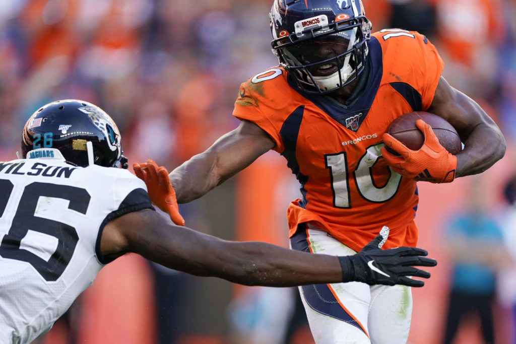 National Football League trade rumors: 49ers acquire wideout Emmanuel Sanders from Broncos