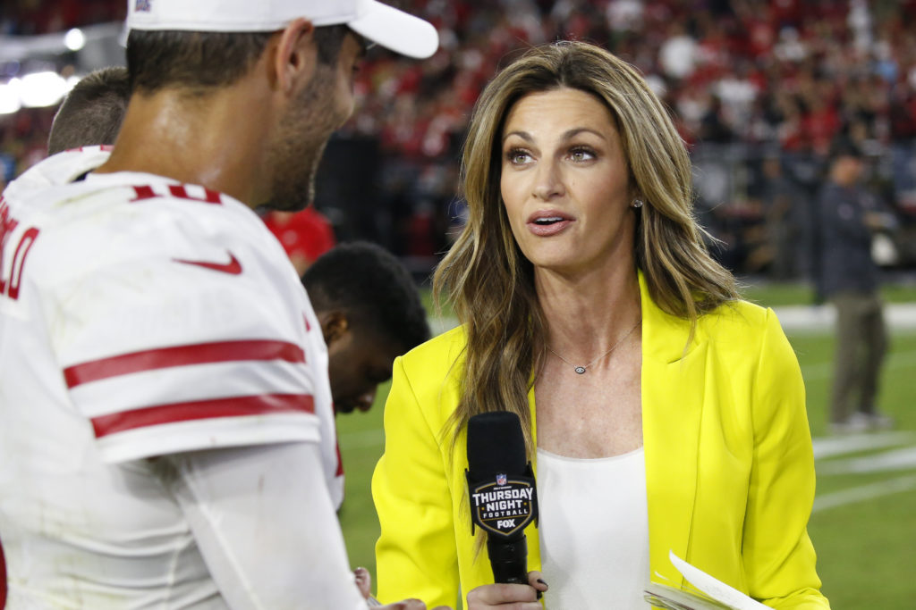 Why I called Erin Andrews 'baby — Jimmy Garoppolo