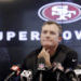 49ers GM Lynch still mum on team's draft plans
