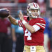 49ers coach Kyle Shanahan not ready to commit to quarterback Nick Mullens full-time